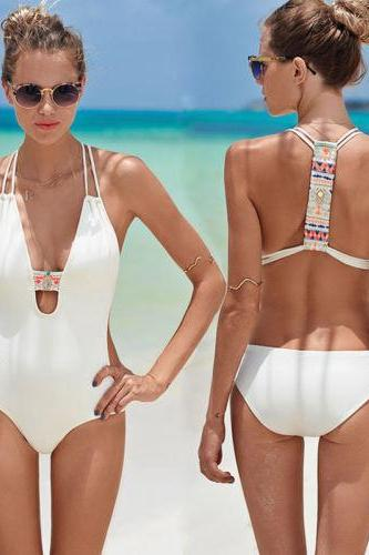 FASHION SEXY ONE PIECE SWIMWEAR