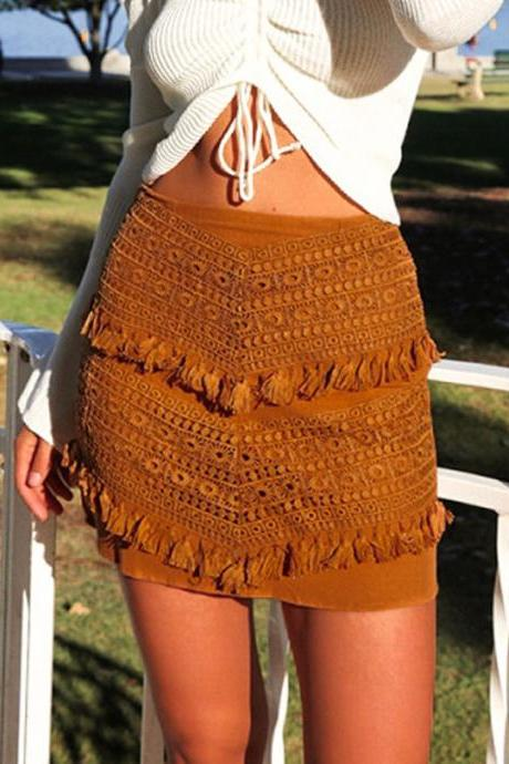 Women'S Sexy Lace Skirt