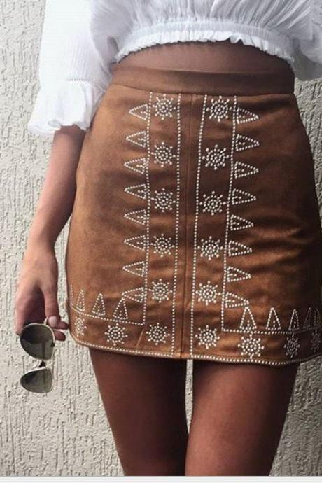 FASHION PRINTED SKIRTS