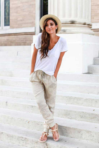 LEISURE LOOSE LONG PANTS