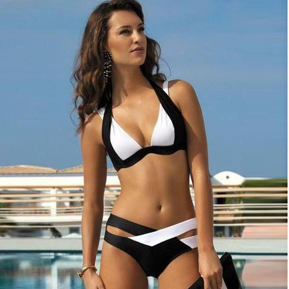 MS. SPELL COLOR BIKINI SWIMSUIT